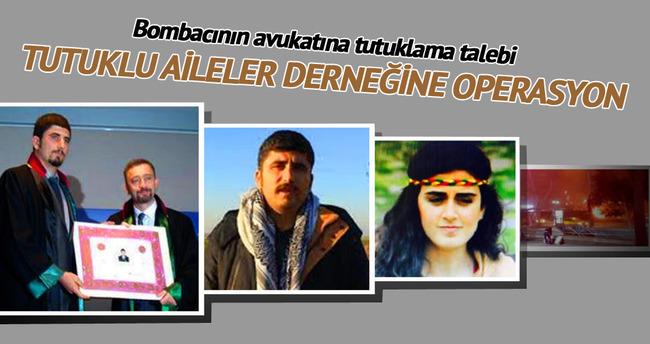 Bombacının avukatına tutuklama talebi