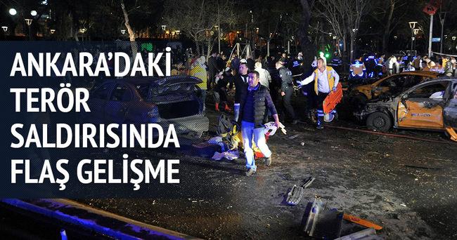 Ankara'daki terör saldırısında flaş gelişme