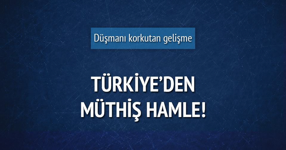 Türkiye'den müthiş hamle!