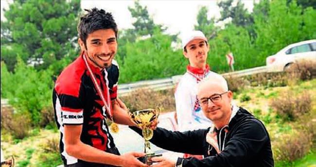 Borovalı dağ bisikleti yarışına sponsor oldu