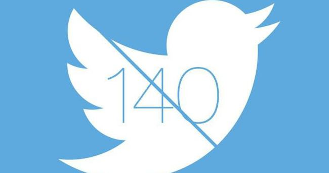 Twitter'da 140 karakter sınırı değişecek mi?