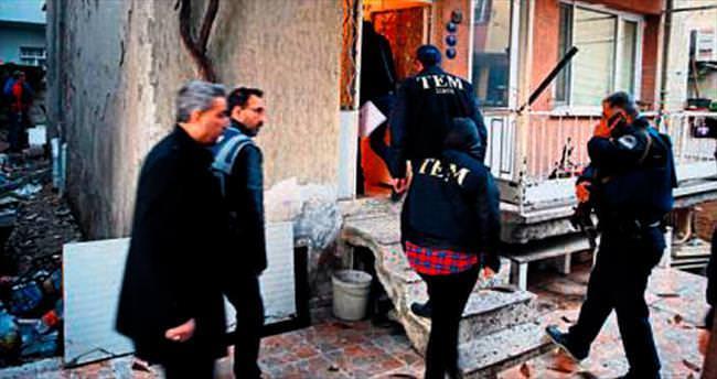 Polise molotofkokteyli atanlar yakalandı