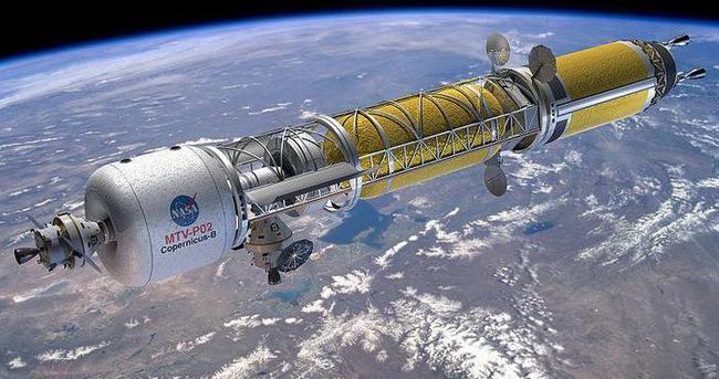 Nükleer roketler Mars'a götürebilir