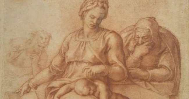 Michelangelo'nun 'sessizliği' sergide