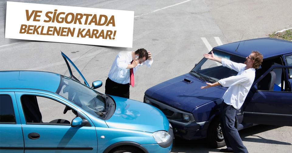 Trafik sigortasında beklenen karar