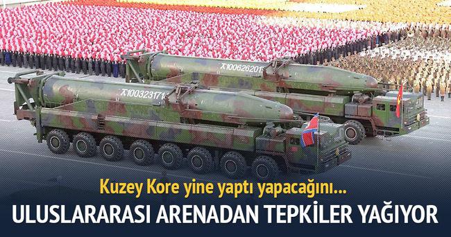 Kuzey Kore'den yine balistik füze denemesi