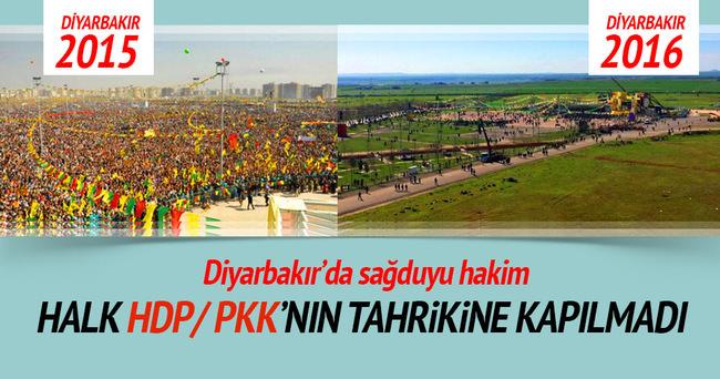 Halk HDP/PKK'nın tahrikine kapılmadı