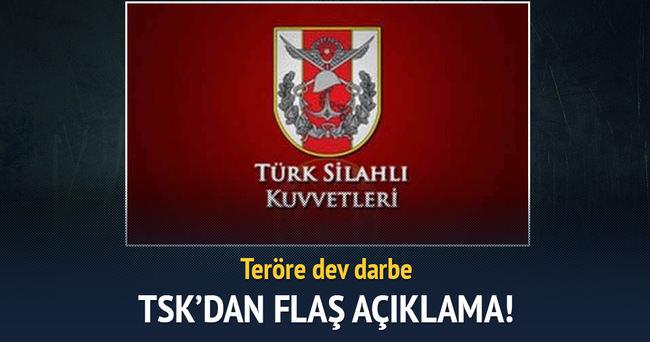 PKK'ya 3 bölgede dev darbe! 22 terörist öldürüldü