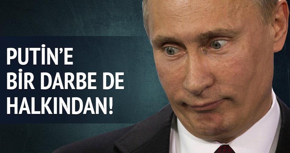 Rus halkının Putin'e güveni azaldı