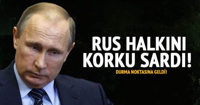 Rus halkını korku sardı!