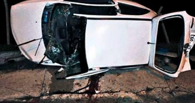 Gölbaşı'ndaki feci kazada 2 kişi öldü