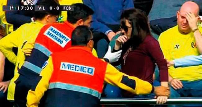 Messi'nin şutunu tutmak isterken, bileği kırıldı