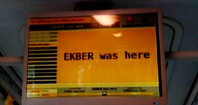 İETT'deki hacker mesajı şaşırttı