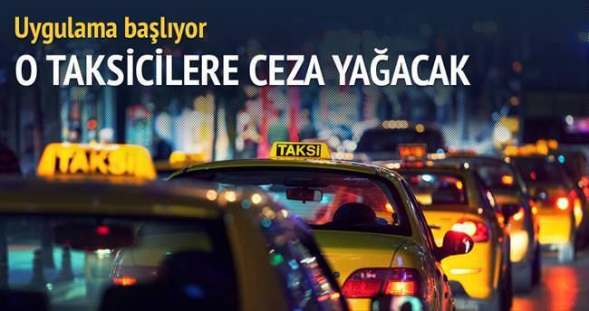 Turisti üzen taksiciye ceza