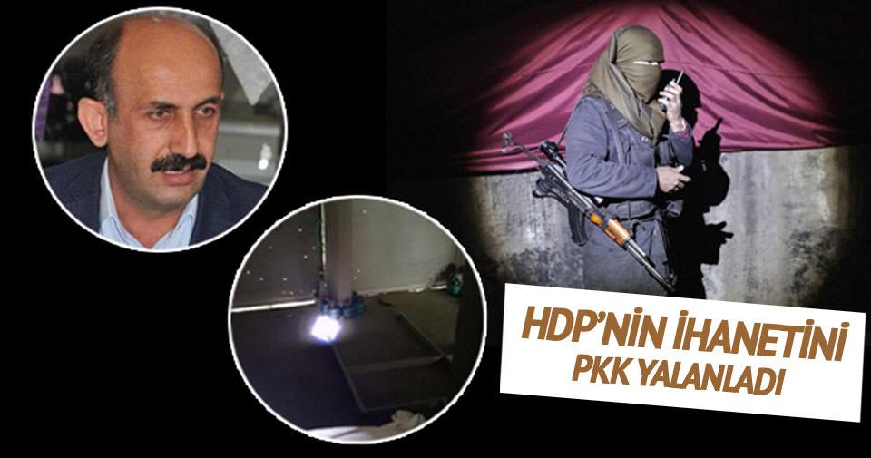 HDP'nin ihanetini PKK yalanladı