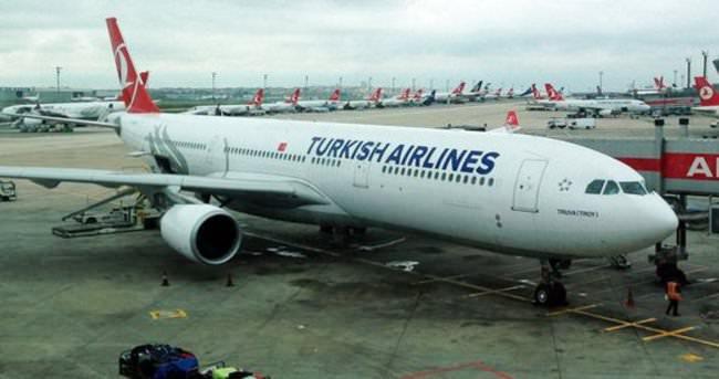 THY uçağı Liege Havalimanı'na yönlendirildi