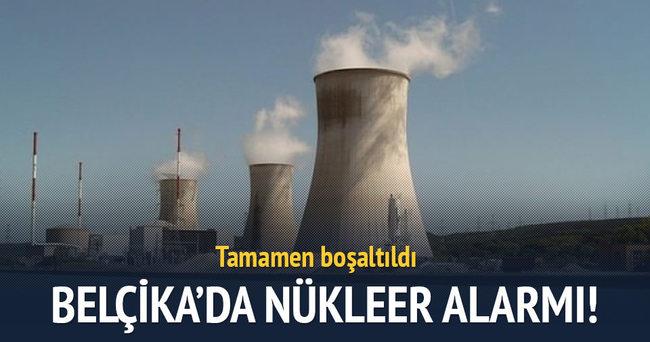 Belçika'da 'nükleer' alarm