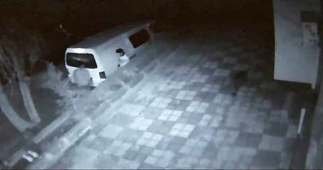 Kadıköy'de minibüs hırsızlığı