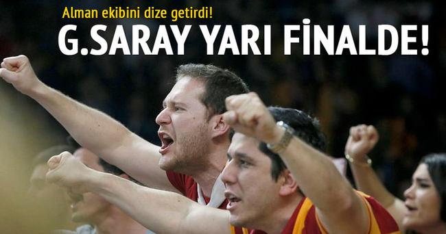 Galatasaray yarı finale yükseldi!