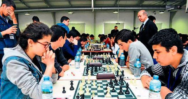 Satranç birincileri belirlendi