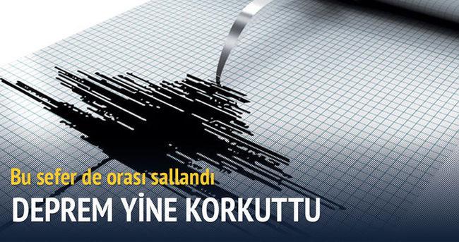 Akdeniz'de 4.6'lık deprem