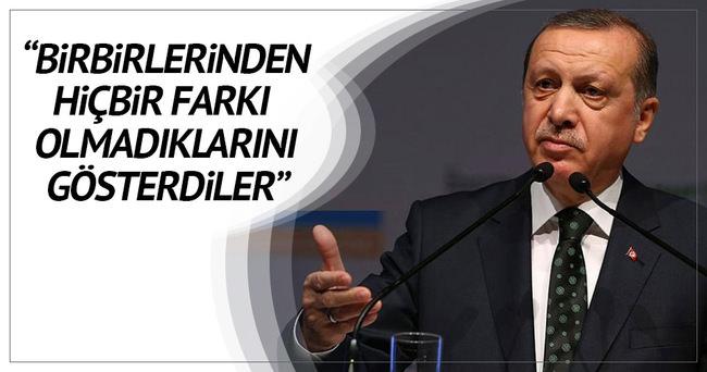 Erdoğan: Zor gününde Belçika'nın yanındayız