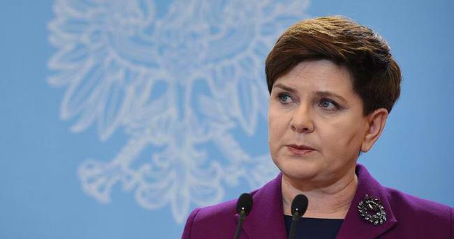 Polonya Başbakanı Szydlo'dan sığınmacılara hayır