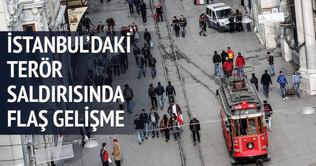 İstanbul'daki terör saldırısı ile ilgili flaş gelişme!