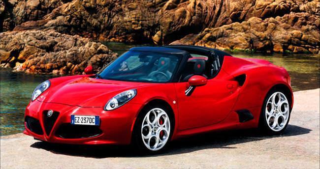 Alfa Romeo 4C Spider Türkiye'de