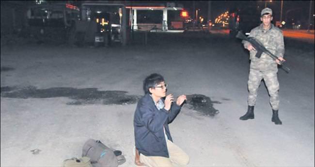 Japon DAEŞ'li sınırda yakalandı