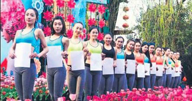 'A4' belli kadın yarışması