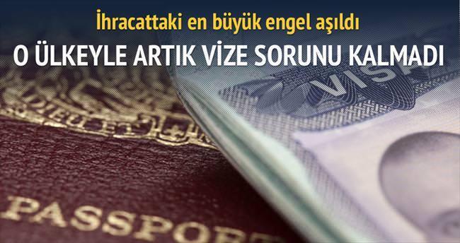 Iraklı işadamlarına vize çıktı
