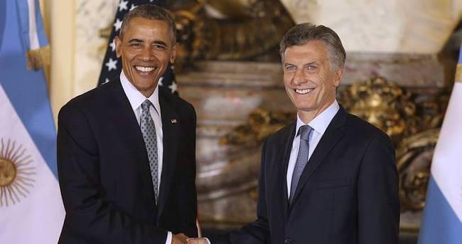 Obama'ya Arjantin'de olaylı karşılama