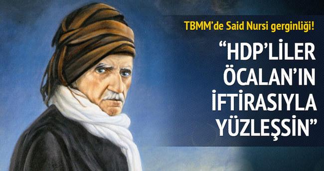 Sait Yüce HDP'nin Said Nursi'nin mezarı önerisine cevap verdi