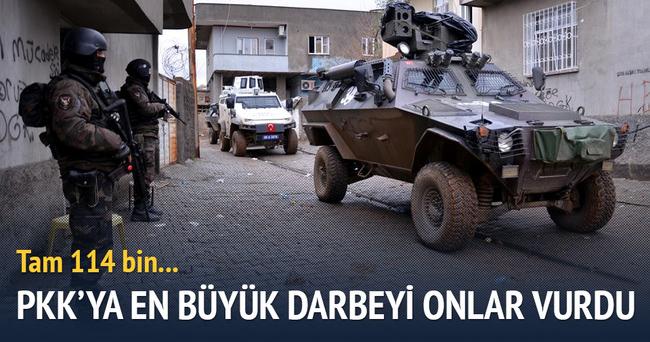 100 bin vatandaş, PKK'yı ihbar etti
