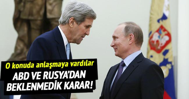 Rusya ile ABD Esad konusunda anlaştı