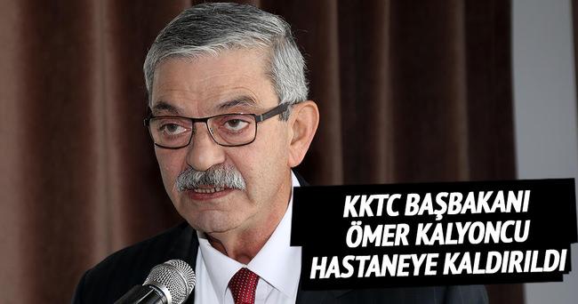 KKTC Başbakanı Ömer Kalyoncu hastaneye kaldırıldı