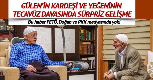 Fetullah Gülen'in tacizci kardeşi hakkında önemli gelişme!