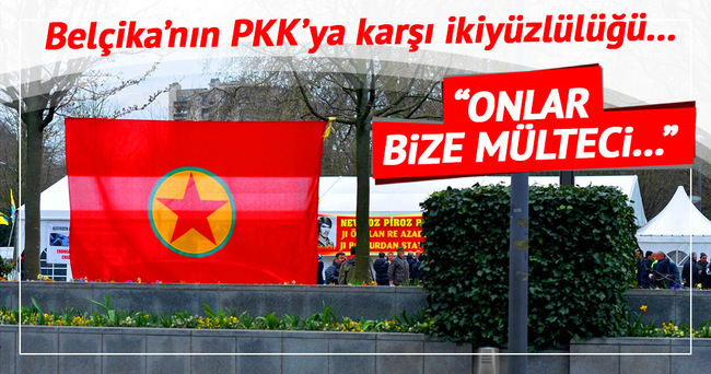 Belçika PKK'lıları böyle savundu!