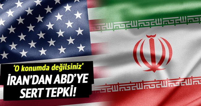 İran'dan ABD'ye tepki!