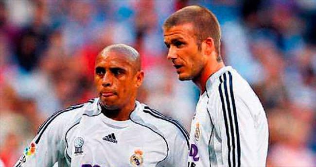 David Beckham patron R.Carlos hoca!..