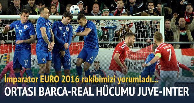 Ortası Barça-Real hücum Juve-İnter