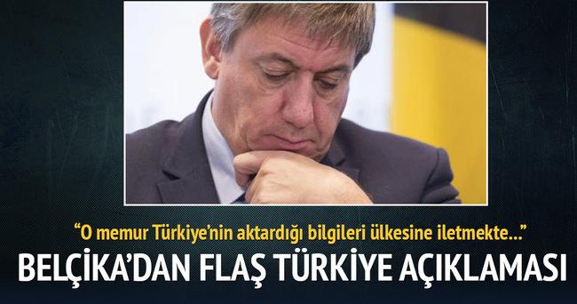 Belçika'dan flaş Türkiye açıklaması