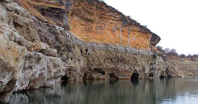 Tarihi kalede 'hüzünlü' yazıt