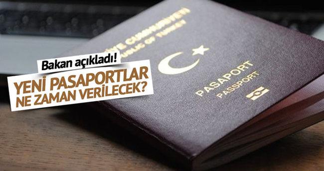 Yeni pasaportlar ne zaman verilecek?