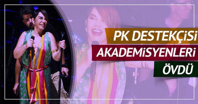 Sezen Aksu'dan PKK destekçisi akademisyenlere övgü!