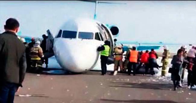 116 yolcuyla tekerleksiz indi