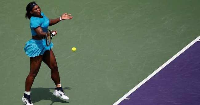 Serena Williams'tan erken veda