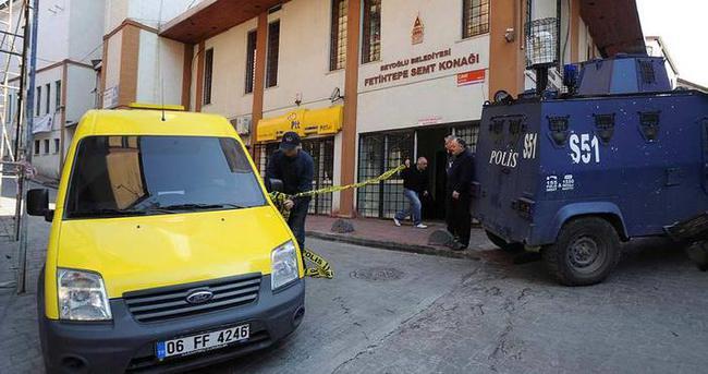Beyoğlu'nda postane soygunu