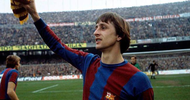Cruyff Barcelona'da anılıyor